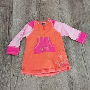 2/$20 Souris Mini 12 m orange dress